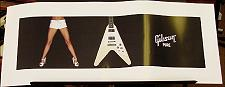 "Gibson ""Pure"" Flying V Poster"